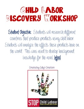 Child Labor Discovery Workshop