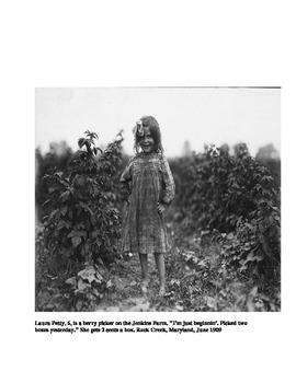 Child Labor during the Progressive Era