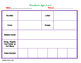 Childcare or Preschool Lesson Plans Template