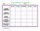 Childcare or Preschool Lesson Plans Template
