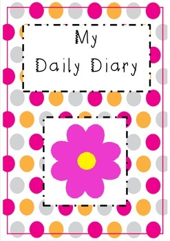 Childminding - daily diary - flower design