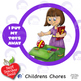 Children Chores Clipart, AMB-1253
