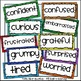 Children Feelings Faces and Labels Clip Art Set 2 - Chirp