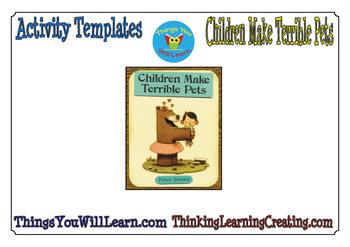 Children Make Terrible Pets Activity Pack