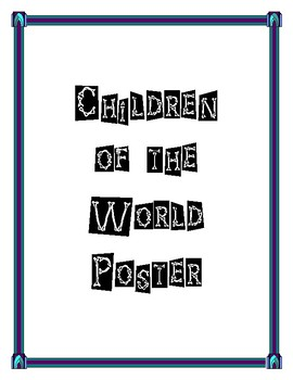 Children Of The World Poster