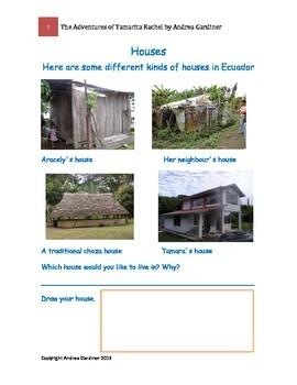 Children in Ecuador Worksheets