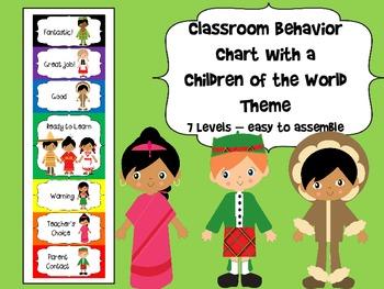 Children of the World Behavior Chart