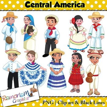 Children of the World Clip art Central America