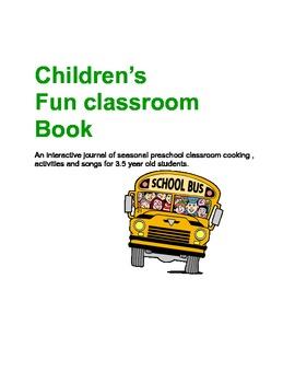 Children's Activity fun book