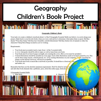 Children's Book Project Geography