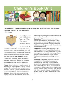 Children's Book Unit