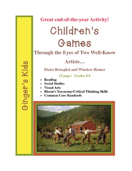 Children's Games-Compare/Contrast