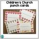 Children's Punch Cards (Positive Behavior Incentive Program)