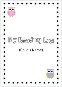 Children's Reading Log