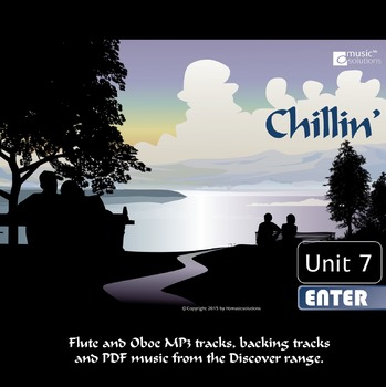 Chillin' Flute And Oboe MP3 And PDF Unit 7.