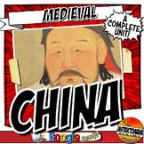 China Dynasties Unit Plan Bundle Sui, Tang, Song, Yuan (Mo