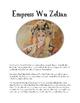 China: Empress Wu Zetian