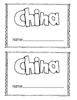 China Facts and Symbols book
