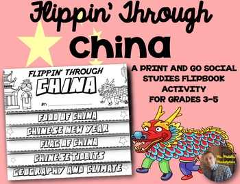 China Flip Book: A Social Studies Interactive Activity for