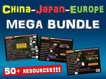 China, Japan, Medieval Europe MEGA BUNDLE (hundreds of sli