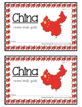 China {Review Study Guide}