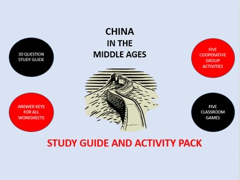 China in the Middle Ages: Study Guide and Activity Pack