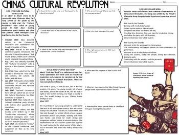 China's Cultural Revolution DBQ