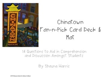 Chinatown Fan & Pick Cards (Trophies 2nd grade)