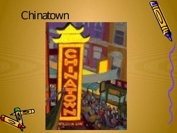 Chinatown Language Arts & Vocabulary Lesson