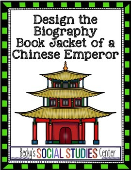 Chinese Emperor Project - Design the Biography Book Jacket