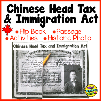 Chinese Head Tax and Immigration Act: Past Canadian Discri