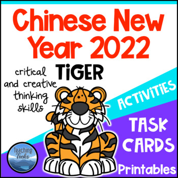 Chinese New Year 2017: Worksheets Task Cards