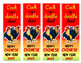 Chinese New Year 2017 - Bookmarks - Year of The Rooster