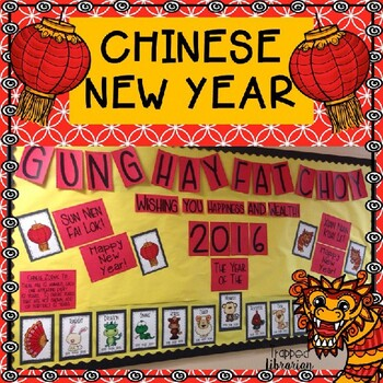 Chinese New Year Bulletin Board Kit