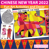 Chinese New Year Bumper Art Activity and Classroom Decor P