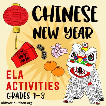 Chinese New Year ELA Activities ~ Holidays Around the Worl
