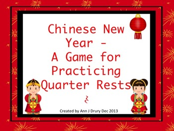 Chinese New Year Rhythms - A Game for Practicing Ta,Ti-Ti
