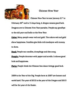 Chinese New Year Test