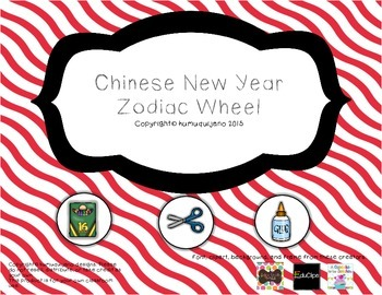 Chinese New Year Zodiac Wheel