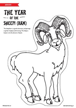 Chinese New Year - Year of the Sheep/Ram/Goat