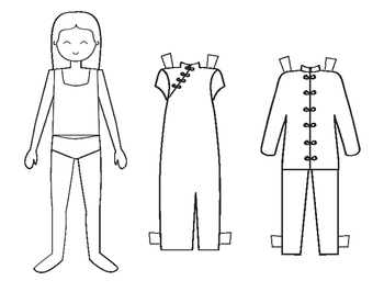 Chinese Paper Doll Craft
