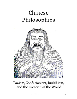 Chinese Culture: Taoism, Confucianism, Buddhism and the Cr
