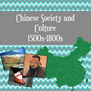 Chinese Society and Culture guided PowerPoint Lesson
