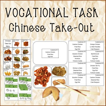 VOCATIONAL TASK Chinese Take-Out