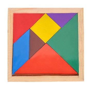 Chinese Tangram Puzzle Developmental Geometry Toy Class Se