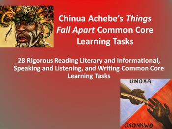 "Chinua Achebe's ""Things Fall Apart"" – 28 Common Core Learn"