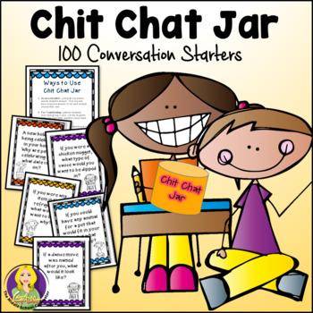 Chit Chat Jar--100 Conversation Starters