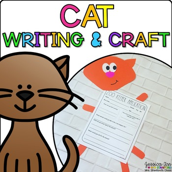 Chloe the Cat {Animal Craftivity and Writing Prompts!}