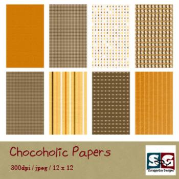 Chocoholic Paper Pack