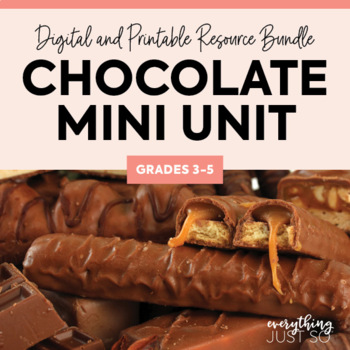Chocolate Mini-unit for Valentine's Day